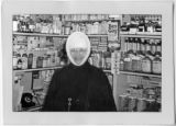 Sr. Vincent of Foligno, pharmacist, Mount St. Vincent Home for the Aged, Seattle, Washington, 1956