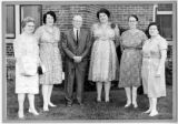 Nursing school reunion (?), St. Ignatius Hospital, Colfax, Washington, ca. 1963