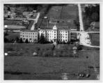 Aerial view of St. John Hospital, Port Townsend, Washington, 1962