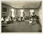 Nursing school living room, Everett General Hospital, Everett, Washington, 1924