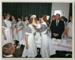 Nursing school capping ceremony, Everett General Hospital, Everett, Washington, 1965