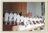 Nursing school graduation, Everett General Hospital, Everett, Washington, 1967