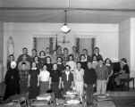 Music class, Our Lady of Lourdes Academy, Wallace, Idaho, 1954