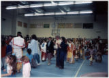 Powwow of Sobriety in honor of Sr. Providencia Tolan, College of Great Falls, Montana, 1990