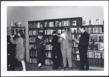 Library, Catholic Junior High School, Anchorage, Alaska, early 1960s