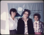 Staff on third anniversary of Providence Hospitality House, Seattle, Washington, 1982