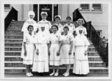 Affiliate nurses, Veterans' Administration hospital, American Lake, Washington, 1951