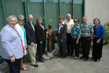 Dedication of Blessed Emilie Gamelin statue, Providence Centralia Hospital, 2011