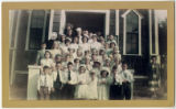 First Communion group, St. Mary Star of the Sea Church, Port Townsend, Washington, 1949