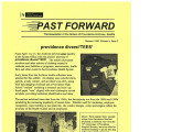 Past Forward, Vol 06 No 02 (Summer 1998)