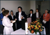 Missioning ceremony, Heritage House at the Market, Seattle, Washington, 1990
