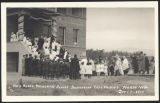 Dedication of Holy Rosary School, Moxee, Washington, 1915